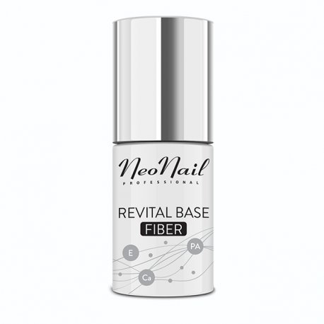Neonail Revital Base Fiber - baza budująca z włóknami nylonowymi 7,2 ml