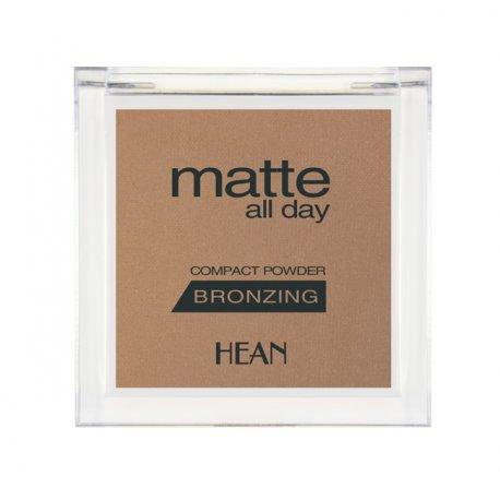 Hean Matte All Day - 505 Jamaica Sun- matowy bronzer