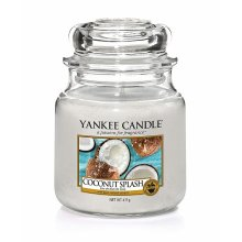 Yankee Candle Coconut Splash - słoik średni świeca zapachowa