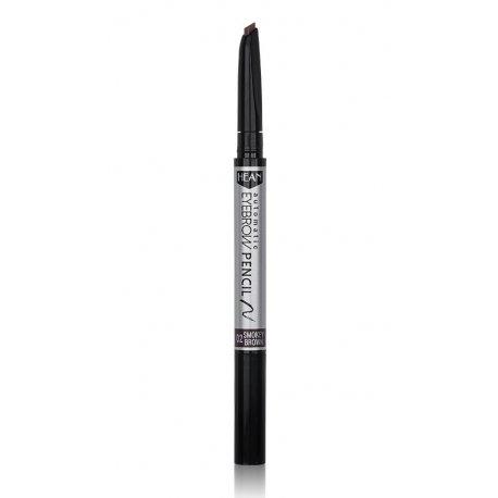 Hean Automatic Eyebrow Pencil - 02 Smokey Brown - woskowa kredka do brwi