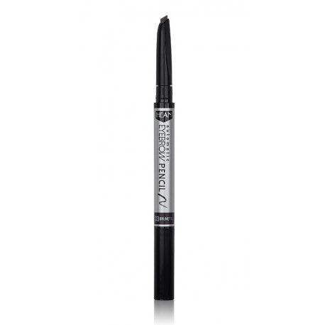 Hean Automatic Eyebrow Pencil - 03 Brunette - woskowa kredka do brwi