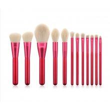 Rubine Brush Set - Zestaw 12 pędzli do makijażu