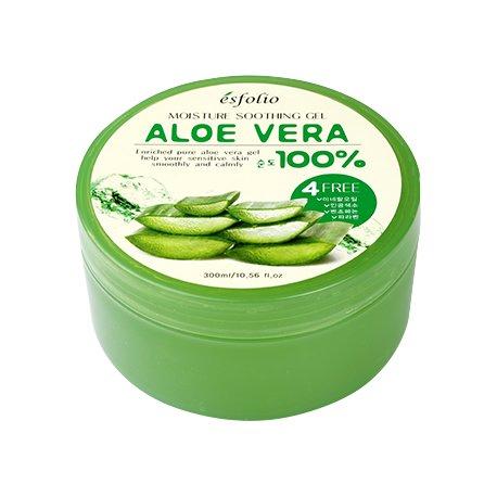 Esfolio Moisture Soothing Gel Aloe Vera 100% - skoncentrowany żel aloesowy 300 ml