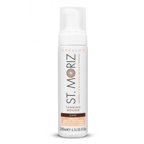 St. Moriz Professional Tanning Mousse - Dark - samoopalacz w musie 200 ml
