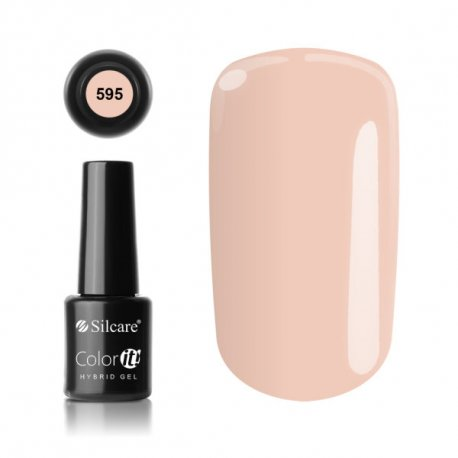 Silcare Color It! 595 lakier hybrydowy do paznokci  8 g