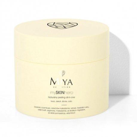 Miya Cosmetics mySKINhero - Naturalny peeling all-in-one do twarzy, ciała i dłoni 200 g