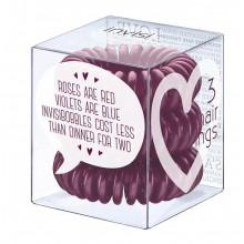 Invisibobble-Plum-Dinner-for-Two-śliwkowa-gumka-do-włosów-3-szt