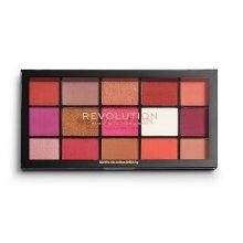 Makeup Revolution Reloaded - Red Alert - paleta 15 cieni do powiek