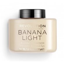 Makeup-Revolution-Loose-Baking-Powder-Banana-Light-sypki-puder-utrwalający-drogeria-internetowa-puderek.com.pl
