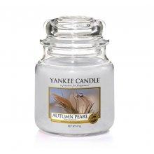 Yankee Candle Autumn Pearl słoik średni świeca zapachowa