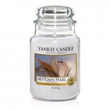 Yankee-Candle-Autumn-Pearl-słoik-duży-świeca-zapachowa-drogeria-internetowa-puderek.com.pl