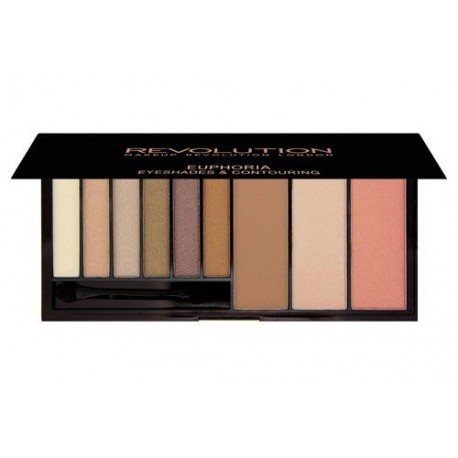 Makeup-Revolution-Euphoria-Bronzed-paleta-cieni-zestaw-do-konturowania-konturowanie-twarzy-drogeria-internetowa-puderek.com.pl
