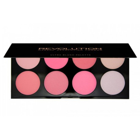 Makeup-Revolution-All-About-Pink-paleta-8-róży-Ultra-Blush-Palette-drogeria-internetowa-puderek.com.pl