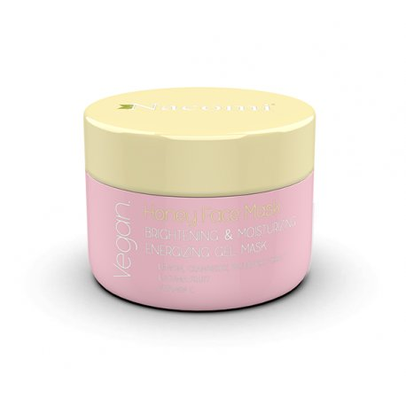 Nacomi Honey Face Mask – Maska Miodowa rozświetlająco-nawilżająca