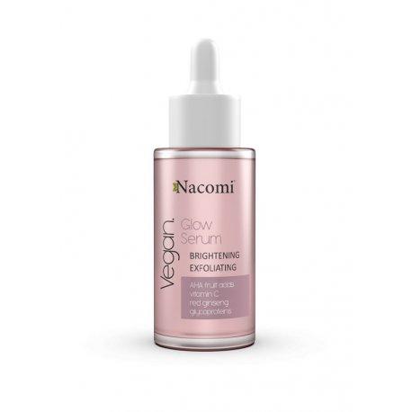 Nacomi Glow Serum – rozjaśniająco-złuszczające 40 ml