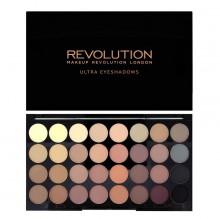 Makeup-Revolution-Flawless-Matte-32-Eyeshadow-Palette-paleta-32-matowych-cieni-cienie-do-powiek-drogeria-internetowa-puderek.com