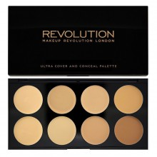Makeup-Revolution-paleta-korektorów-Light-Medium-Ultra-Cover-and-Conceal-Palette-drogeria-internetowa-puderek.com.pl