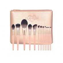GlamRush-Zestaw-pędzli-do- makijażu-Luxury-Rose-Gold-Brush-Set-G170-drogeria-internetowa-puderek.com.pl