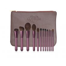 GlamRush-Zestaw-pędzli-do- makijażu-Purple-Brush-Set-G220-drogeria-internetowa-puderek.com.pl