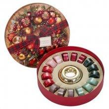 Yankee-Candle-Alpine-Christmas-zestaw-18-tealightów-świecznik-drogeria-internetowa-puderek.com.pl