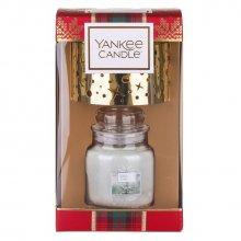 Yankee-Candle-Alpine-Christmas-White-Fir-mały-słoik-klosz-drogeria-internetowa-puderek.com.pl