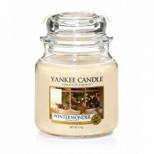 Yankee Candle Winter Wonder słoik średni świeca zapachowa