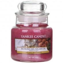 Yankee Candle Maroccan Argan Oil słoik mały świeca zapachowa