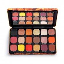 Makeup-Revolution-Forever-Flawless-Fire-paleta-18-cieni-cienie-do-powiek-drogeria-internetowa-puderek.com.pl