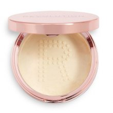 Makeup-Revolution-Conceal-&-Fix-Setting-Powder-Light-Yellow-sypki-puder-utrwalający-drogeria-internetowa-puderek.com.pl