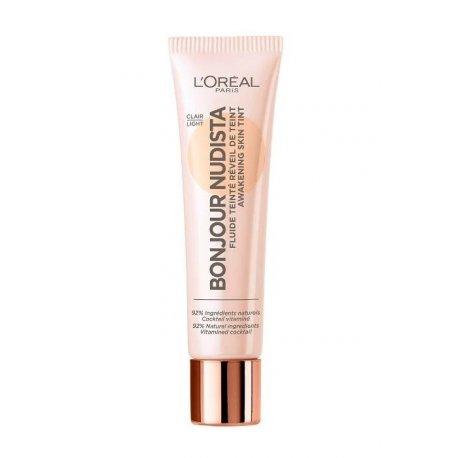 Loreal Bonjour Nudista Awakening Skin Tint - Light - krem koloryzujący