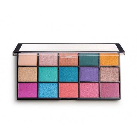 Makeup Revolution Reloaded - Jewelled - paleta 15 cieni do powiek