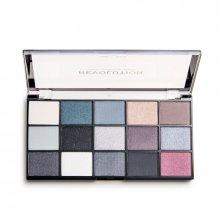 Makeup Revolution Reloaded - Blackout - paleta 15 cieni do powiek