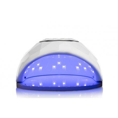 Zestaw startowy do hybryd - zawiera: 2x lakier hybrydowy Neonail +base/top 2w1 Neonail +LAMPA LED UV 86W +akcesoria