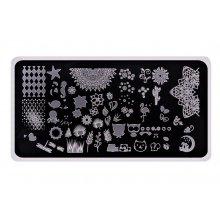 Elisium-Stamping-Plates-Nature-blaszka-z-wzorami-do-stempli-drogeria-internetowa-puderek.com.pl