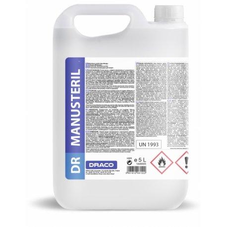 Dr Manusteril 82% Antybakteryjny żel do dezynfekcji rąk i powierzchni  5L