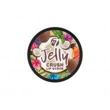 W7 Jelly Crush Lip Scrub - Crazy Coconut - Cukrowy peeling do ust