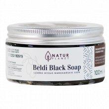 Natur Planet - Beldi Black Soap - Czarne mydło Marokańskie 100g