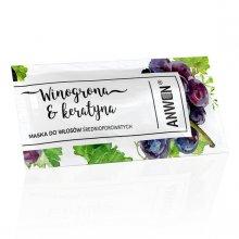 Anwen-saszetka-winogrona-i-keratyna-maska-do-włosów-średnioporowatych-drogeria-internetowa-puderek.com