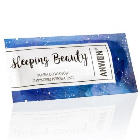 Anwen - Saszetka - Sleeping Beauty  - nocna maska do włosów wysokoporowatych 10ml
