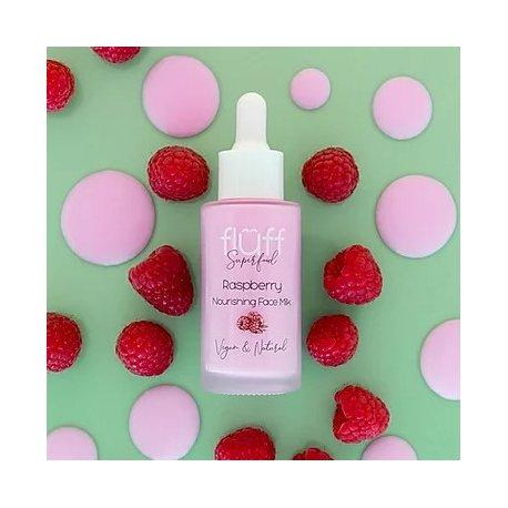 Fluff - Odżywiające mleko do twarzy - Malina - 40 ml