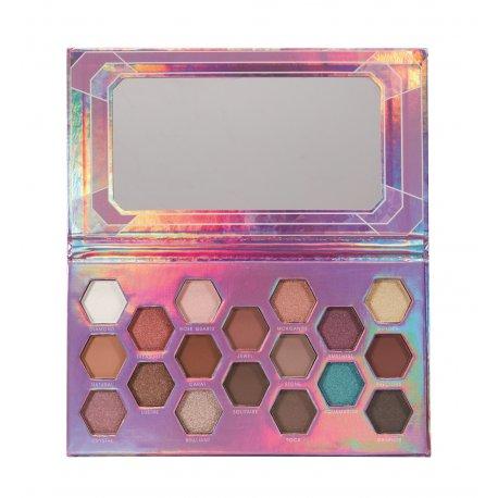 Sunkissed Precious Treasures Crystal Eyes Palette - paleta cieni do powiek