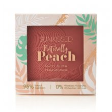 Sunkissed-Naturally-Peach-Matte-Blush-matowy-róż-drogeria-internetowa-puderek.com.pl