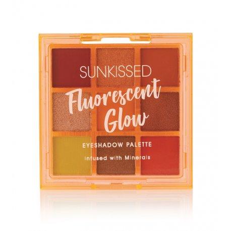Sunkissed Fluorescent Glow Eyeshadow Palette - paleta cieni do powiek
