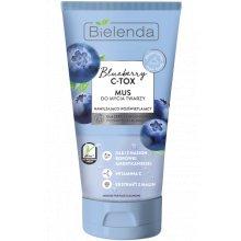 Bielenda - Blueberry C-TOX - Mus do mycia twarzy nawilżająco- rozświetlający 135g