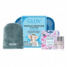 Glov Travel Set Expert Dry Skin - Podróżny zestaw do demakijażu dla skóry suchej
