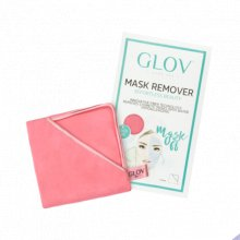 Glov Mask Remover Różowa rękawica do zmywania masek