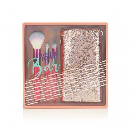 Sunkissed Brush Bar - zestaw pędzli + kosmetyczka