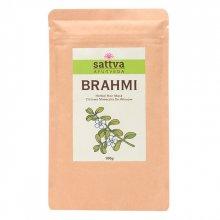 Sattva Herbal Brahmi Powder - Ziołowa maseczka do włosów 100 g