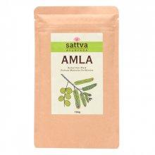 Sattva Herbal Amla Powder - Ziołowa maseczka do włosów 100g