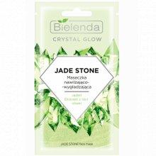 Bielenda - Crystal Glow - Jade Stone maseczka nawilżająco- łagodząca 8g